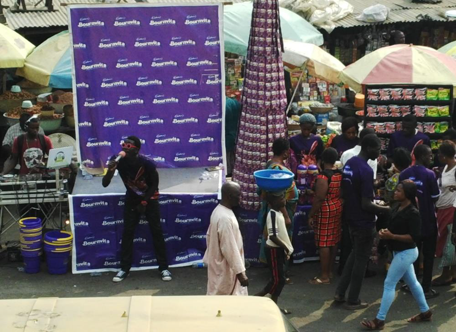 CADBURY OPEN MARKET SHOPPER DELIGHT ACTIVATION