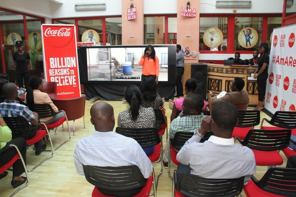 COCA-COLA BILLION REASONS TO BELIEVE (INTERNAL LAUNCH) (2)